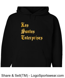 Los Santos Enterprises Full Print Design Zoom