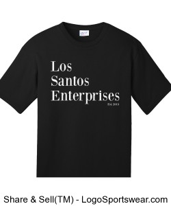 Los Santos Enterprises Staff Style Shirt Design Zoom