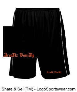 ArsoNz GamiNg shorts Design Zoom