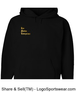 Los Santos Enterprises Pullover hoodie chest logo Design Zoom