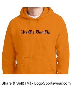 Pull Over hoodie Design Zoom